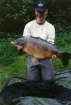 Mick Sumner 26lbs 8oz Carp from Sutton Park. Fence, Hair rig,