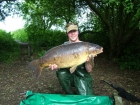 Mick Sumner 32lbs 8oz Carp from Acton Burnell. Size 8 Drennan Super Specialist, 8lb Berkley XL, TMG Surface Missile