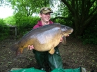 Mick Sumner 41lbs 8oz Carp from Acton Burnell. Surface caught