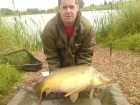 Steve Pugh 31lbs 2oz Mirror Carp from Merrington Carp Fishery