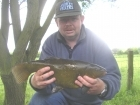 5lbs 12oz Tench from Tontine Lake. Method Feeder fished at approximately 30 yards range with a short (six inch) hooklength