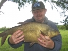 6lbs 12oz Bream from Tontine Lake. Method Feeder fished at approximately 30 yards range with a short (six inch) hooklength