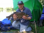 7lbs 2oz Bream from Tontine Lake. Method Feeder fished to right of stakes