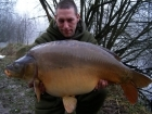 Robin Martin Parrish 36lbs 12oz carp from Les Burons Carp Fishing. andy foreman feb 2010