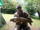 Craig Russell 19lbs 2oz Carp from Bluebell Lakes using 15mm The Source pop up.
