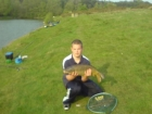 11lbs 0oz Carp from Hopton Pools. Caught close in on red maggots and pellets at the end of the session.
