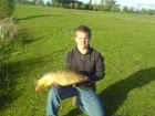12lbs 8oz Carp from Baden Hall Fisheries. Caught on the Middle Pool with feeder tactics.