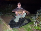 Ian Bayliss 29lbs 6oz Carp from Great Linford Lakes using Heathrow baits.. Caught on a solid bag (pellet) setup inline lead