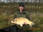 Ian Bayliss 20lbs 3oz Ghost Carp from Great Linford Lakes