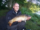 Leigh Michael Cox 18lbs 0oz Common Carp from Calf Heath Reservoir. Method feeder