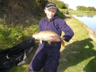 Harry Ballard 7lbs 5oz Common Carp from Wharton Hall Farm using Farmfoods sweecorn.. Float fished on the bottom over sweetcorn and chopped luncheon meat. It took around 15 minutes to land on black
