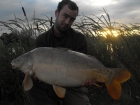 Philip Loach 22lbs 8oz Mirror Carp from Merrington Carp Fishery
