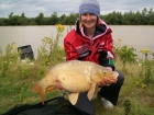 Kirsty Barnett 20lbs 0oz carp from Bain Valley Fisheries