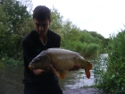 Jay 14lbs 4oz carp from Burnham-on-sea Holiday Village