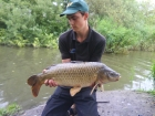 Jay 13lbs 8oz carp from Burnham-on-sea Holiday Village