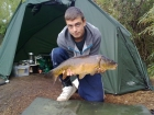 Jay 12lbs 4oz carp from Burnham-on-sea Holiday Village