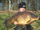 Ben Everill 17lbs 0oz Common Carp from Doddington Hall Specimen Lake