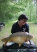 Essex Carp Baits 25lbs 12oz Mirror Carp from Etangs De Breton using Essex Carp Baits C.I.A Chocolate Intense Amino.