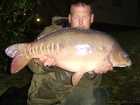 31lbs 4oz Mirror Carp from Rookley Country Park using carp company ice red.