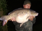 27lbs 2oz Mirror Carp from Rookley Country Park using carp company ice red.