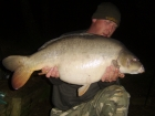 27lbs 12oz Mirror Carp from Rookley Country Park using carp company ice red.
