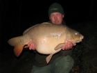 John Morley 30lbs 0oz Mirror Carp from Rookley Country Park using carp company.. winter