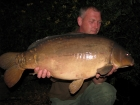 33lbs 0oz Mirror Carp from Rookley Country Park using carp company.. the twin