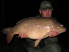 21lbs 0oz Mirror Carp from Rookley Country Park using carp company.