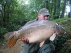 John Morley 29lbs 0oz Mirror Carp from Rookley Country Park using carp company.