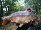 John Morley 27lbs 4oz Mirror Carp from Rookley Country Park using carp company.
