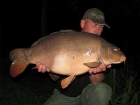 John Morley 30lbs 2oz Mirror Carp from Rookley Country Park using carp company.. a new 30lb