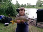 Louis Adams 7lbs 10oz Mirror Carp from Carney Pools. Damsel pool their is carp 8lb tench,perch,roach and gudgeon the dragon has tench to 5lb and carp to 20lb