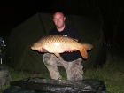 Royston Butwell 20lbs 0oz Common Carp from Great Linford Lakes. common about 20lb