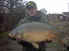 James Cracknell 17lbs 0oz carp from The Riddings Fishery
