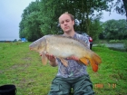 James Cracknell 16lbs 0oz Mirror Carp from Local Club Water using premier baits 20mm bottom bait.