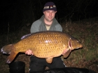 38lbs 0oz Common Carp from Aveley Lakes using Essex carp baits F.I.A Wafter.. The carp was caught over a pre-bait spot on a  Korda size 8 wide gape hook with shrink tube, kryston Merlin hook length