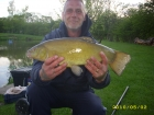 6lbs 3oz Tench from Lancaster Farm