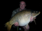 Marc Fossey 36lbs 7oz carp from La Petite Martiniere using Mainline Cell.