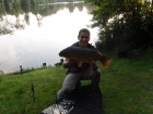 17lbs 3oz Common Carp from Private Syndicate using Mainline New Grange.