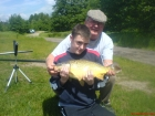 George Sheldon 6lbs 10oz Common Carp from Birch House Lakes