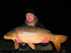 David Summers 19lbs 6oz Mirror Carp from linford lakes using Starmer Baits.. I fished park farm 1 with Mark Woolley on a over nighter were i caught a new PB 19lb 6oz mirror.