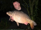 Kieron Axten 22lbs 8oz Mirror Carp from Rookley Country Park using Carp Company Icelandic Red Cranberry & Caviar.