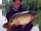 Kieron Axten 22lbs 12oz Common Carp from Cuttle Mill Carp Fishery using Paul Walker Monster Crab.. Summer Carnage at the Mill. 9 fish in one day from peg 8. 