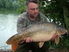 Kieron Axten 18lbs 12oz Common Carp from Rookley Country Park using Carp Company Icelandic Red Cranberry & Caviar.