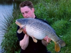 Kieron Axten 20lbs 9oz Common Carp from Froggatts Pond using Nutrabaits Big Fish Mix with Black Pepper and Caviar.