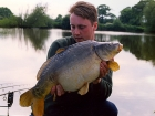 Kieron Axten 17lbs 15oz Mirror Carp from Froggatts Pond using Nutrabaits Big Fish Mix with Black Pepper and Caviar.