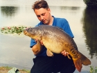 Kieron Axten 23lbs 8oz Mirror Carp from Kingsbury Water Park using Nutrabaits Big Fish Mix with Black Pepper and Caviar.. Fishing to the back of an island on some gravel - I had 11 fish in an
