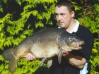 Kieron Axten 25lbs 7oz Mirror Carp from Waveney Valley Lakes using Mainline Grange CSL.. 9 fish in a week from peg 11 including 5 20s - 28lb 7oz, 25lb 7oz, 22lb, 20lb, 10lb 13oz and another
