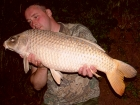 Kieron Axten 20lbs 0oz Ghost Common Carp from Lonsdale Park using Solar Club Mix (Squid & Octopus, Stimulin and Anchovy).