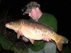 20lbs 0oz Mirror Carp from Burnham-on-sea Holiday Village using Mainline Grange CSL.